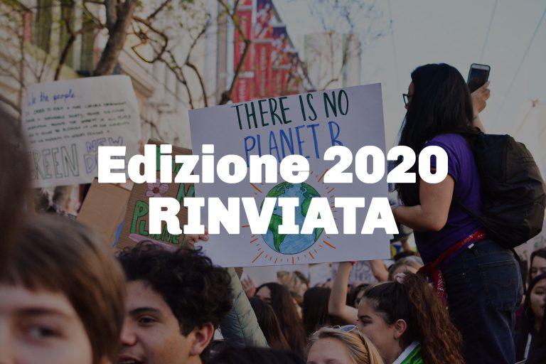 Edizione 2020 rinviata